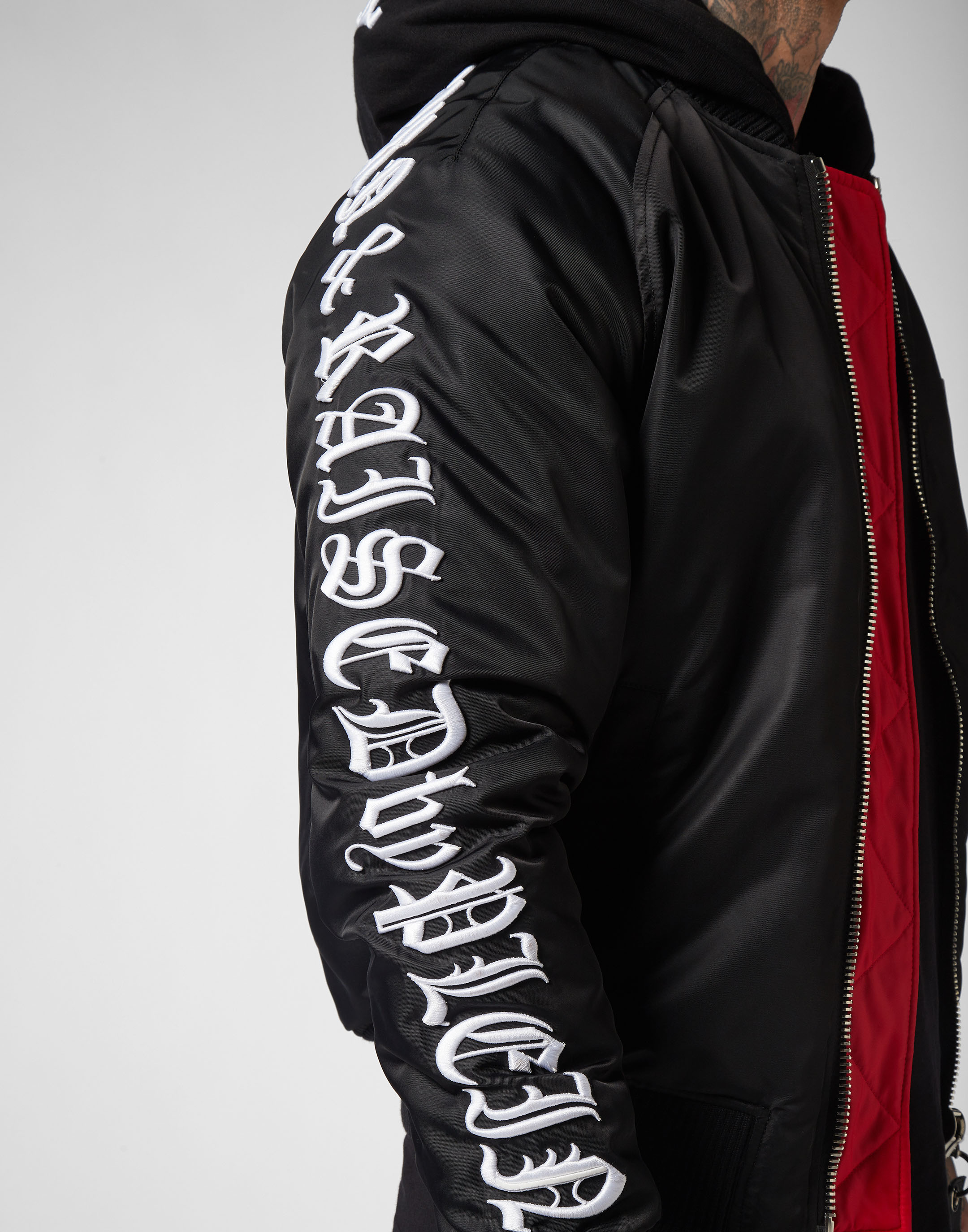 Nylon Philipp Gothic Jacket Nylon Jacket Plein qXcSwv75