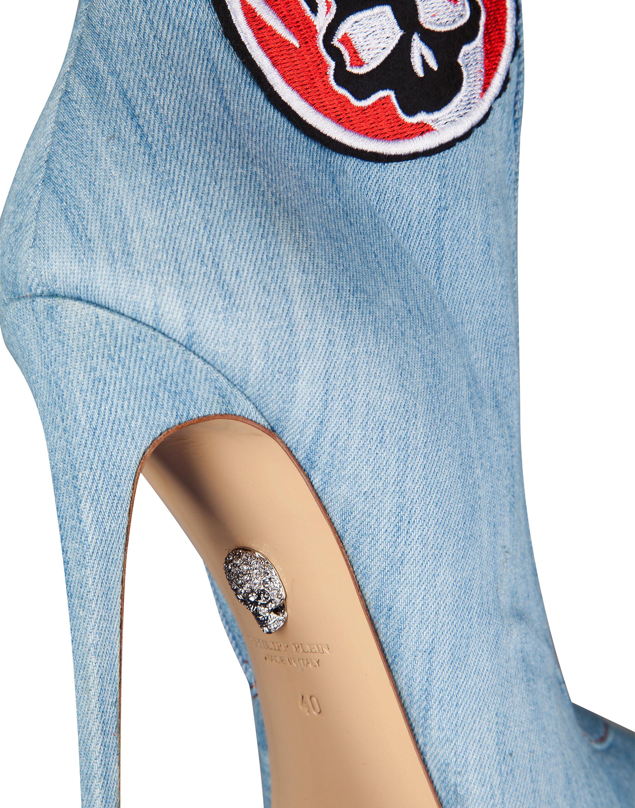 Philipp Plein Boots High Heels High Kobra love high Obtenir Authentique Meilleur Endroit Pas Cher Prix Pas Cher De La France Dmo0KeWu
