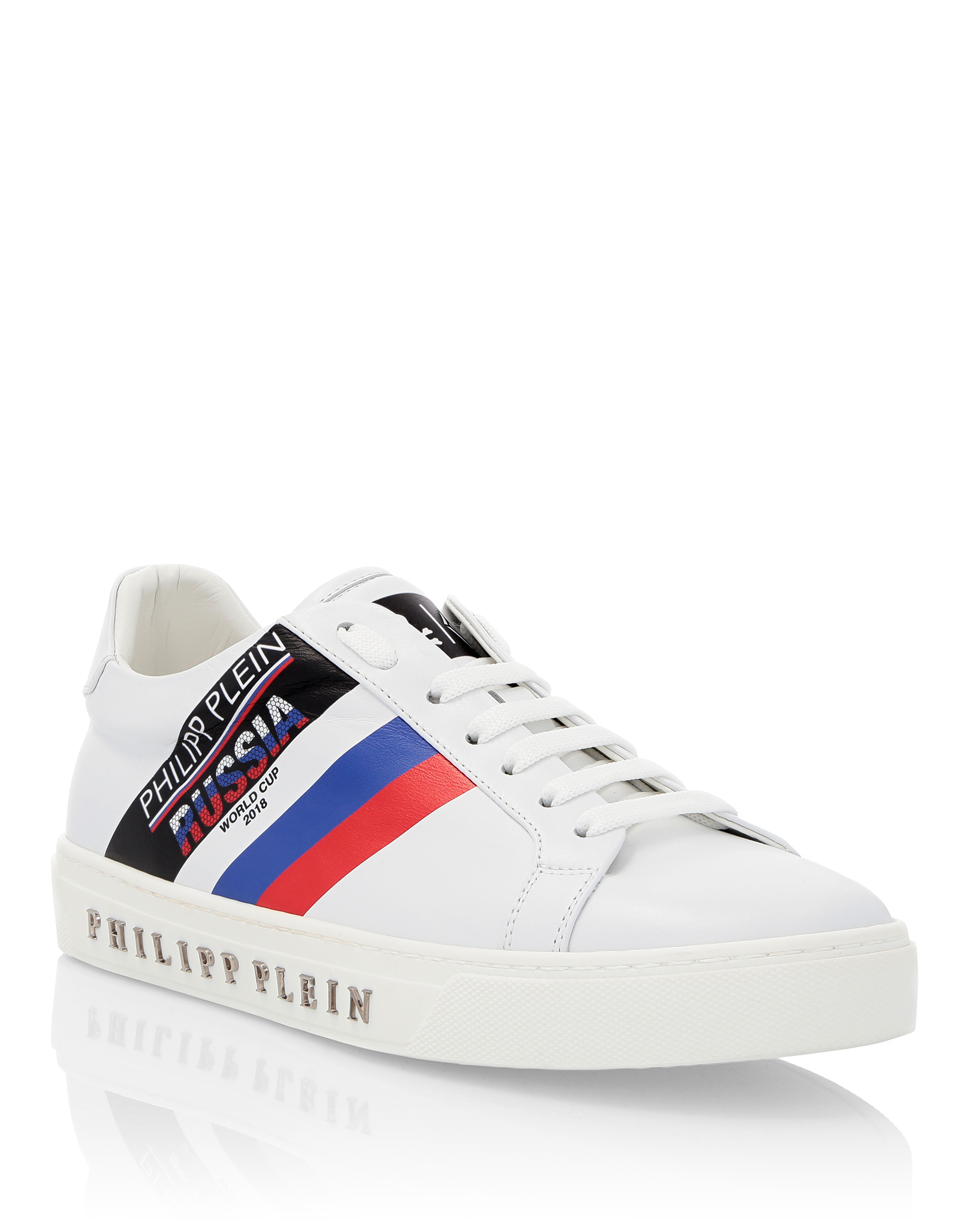 PHILIPP PLEIN LO-TOP SNEAKERS