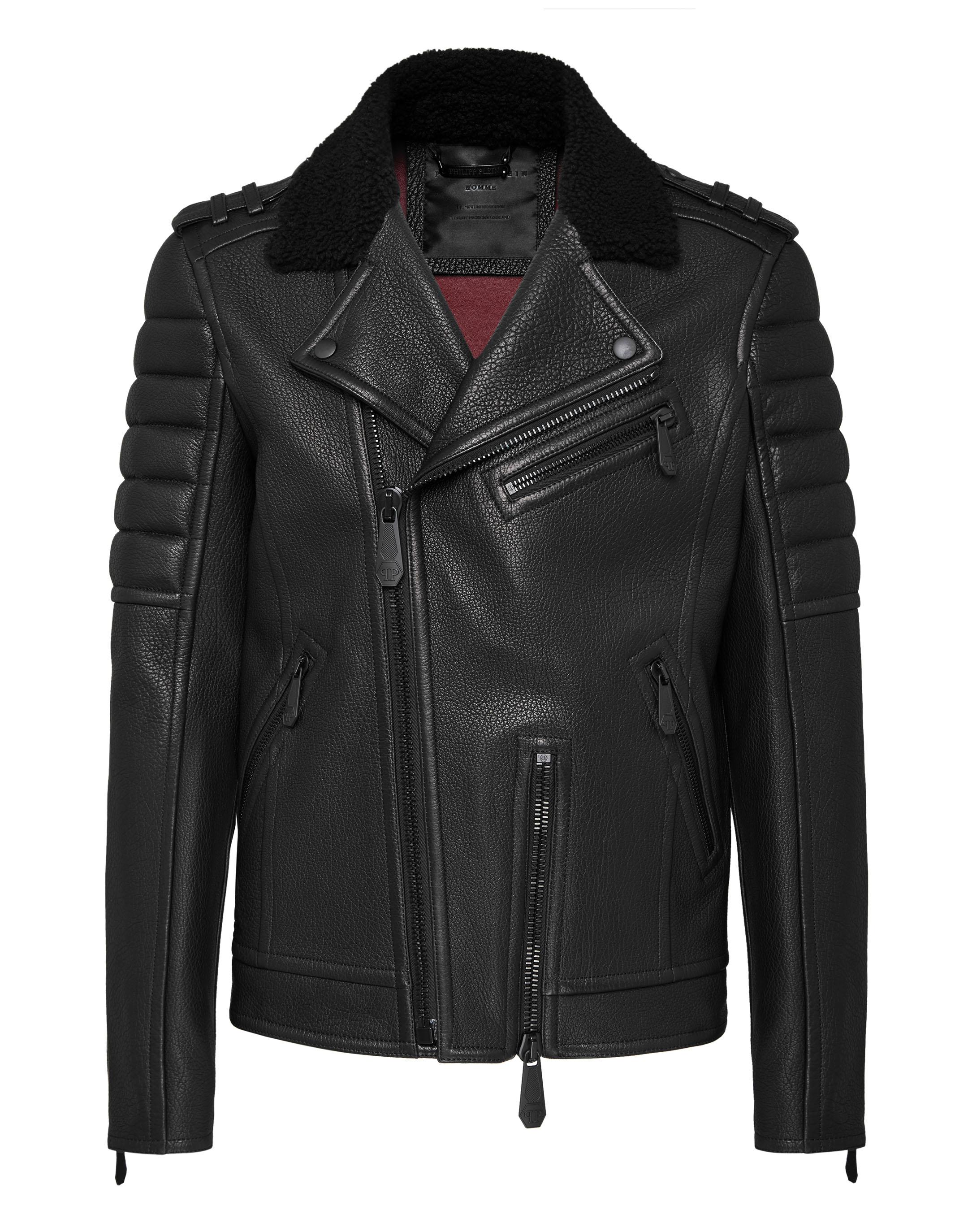 ef30c3340d Leather Biker Statement | Philipp Plein