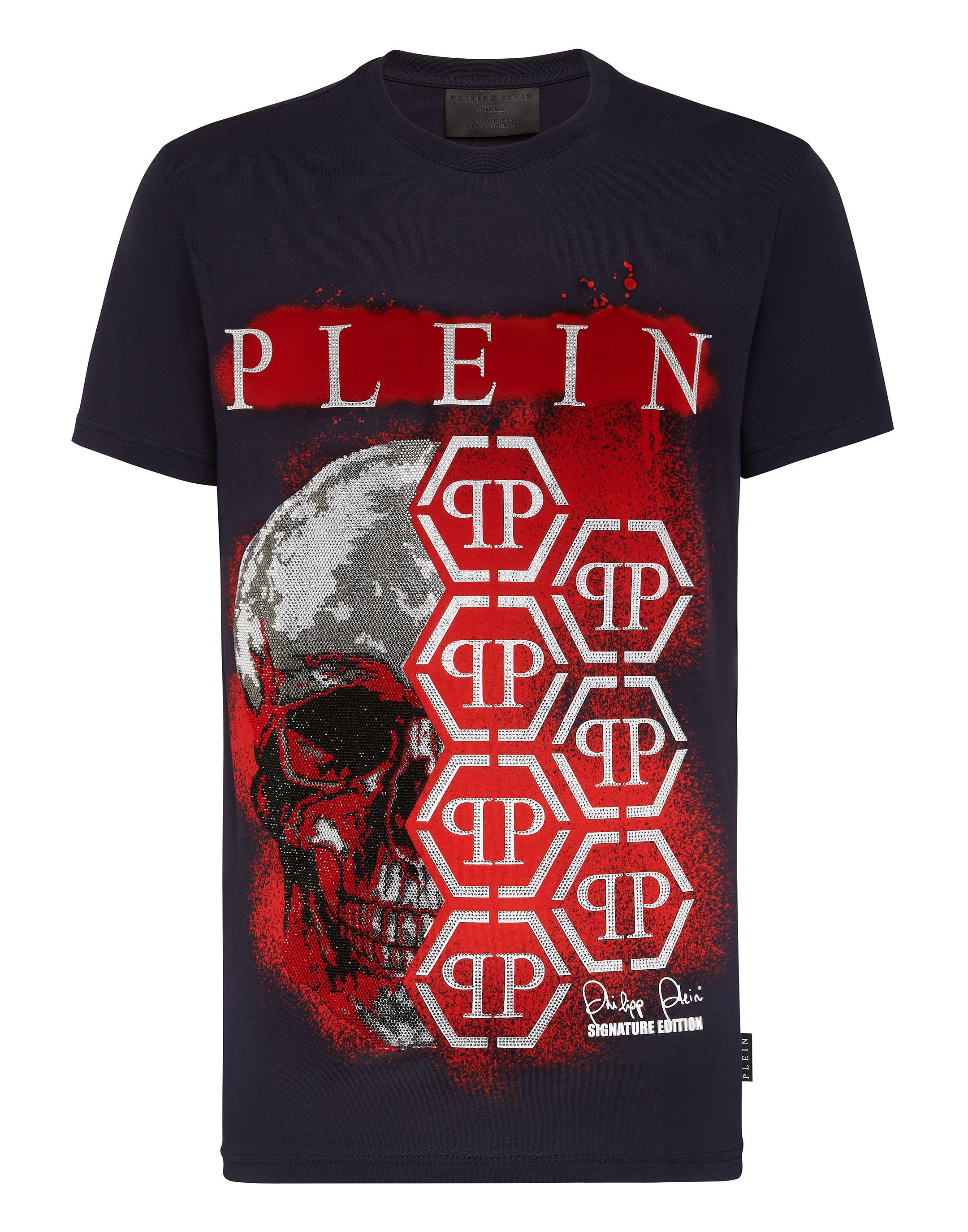 T shirt Round Neck SS Graffiti | Philipp Plein