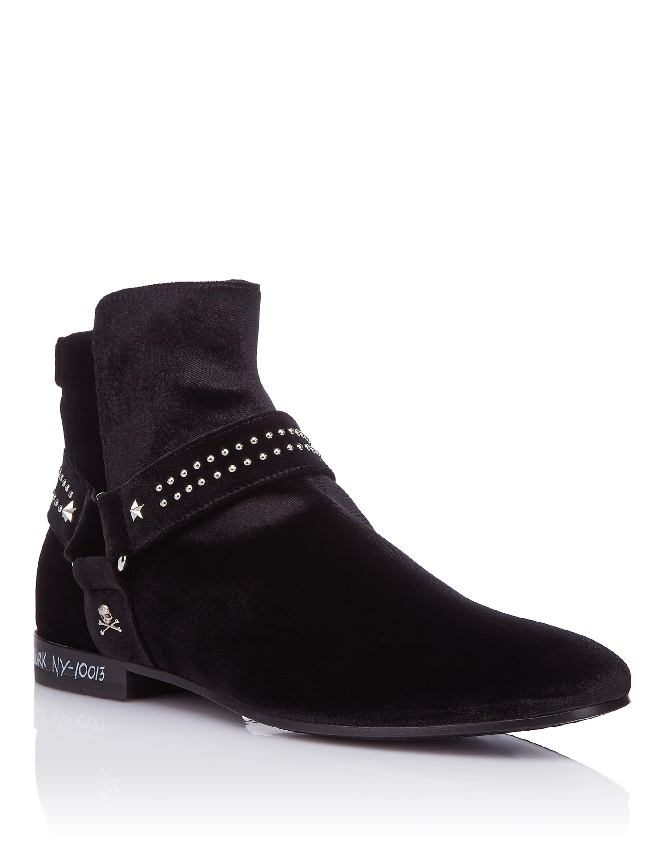Philipp Plein Boots Low Flat MM rWoFXq7lLf