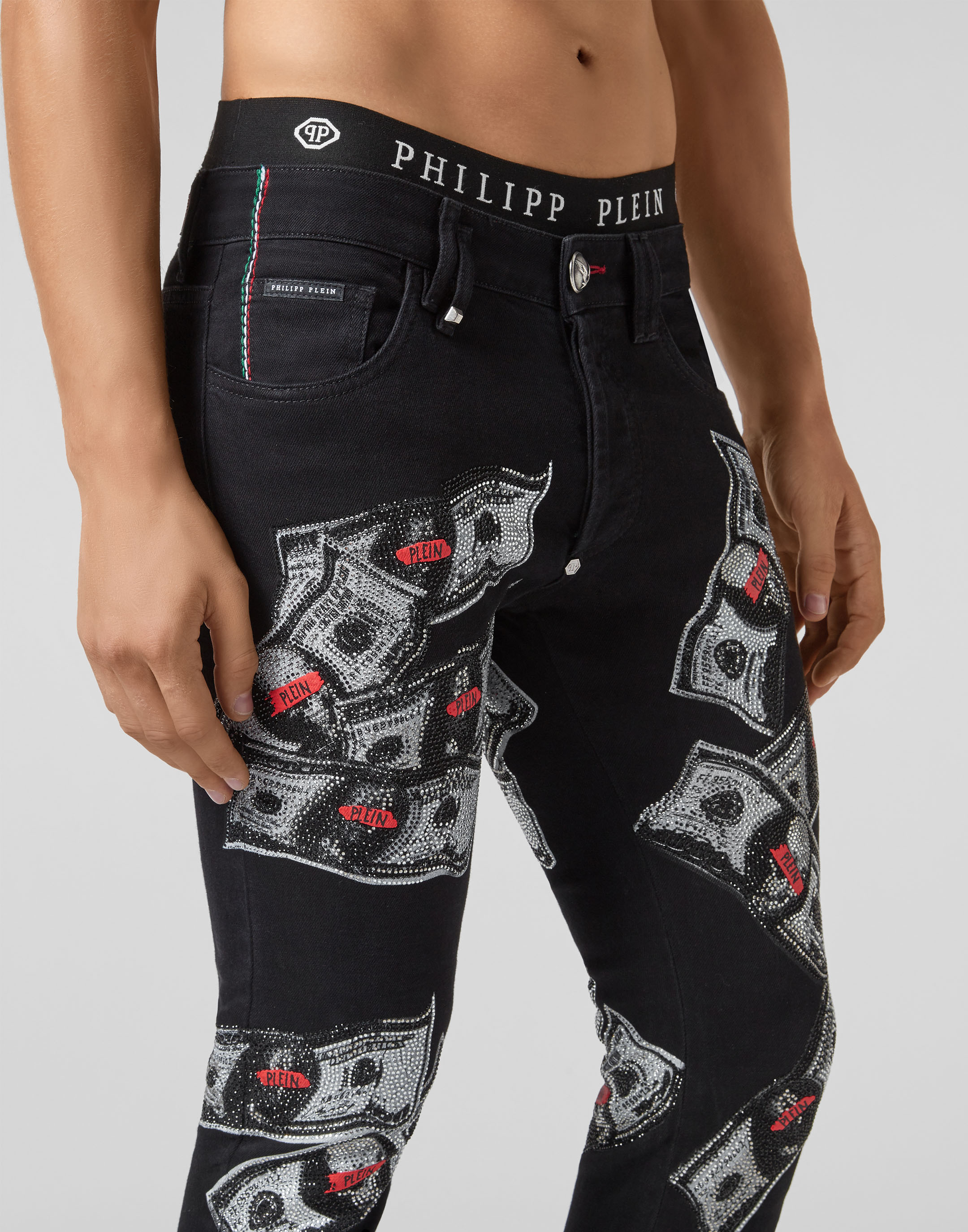 715c32c4bc9a Super Straight Cut Dollar   Philipp Plein