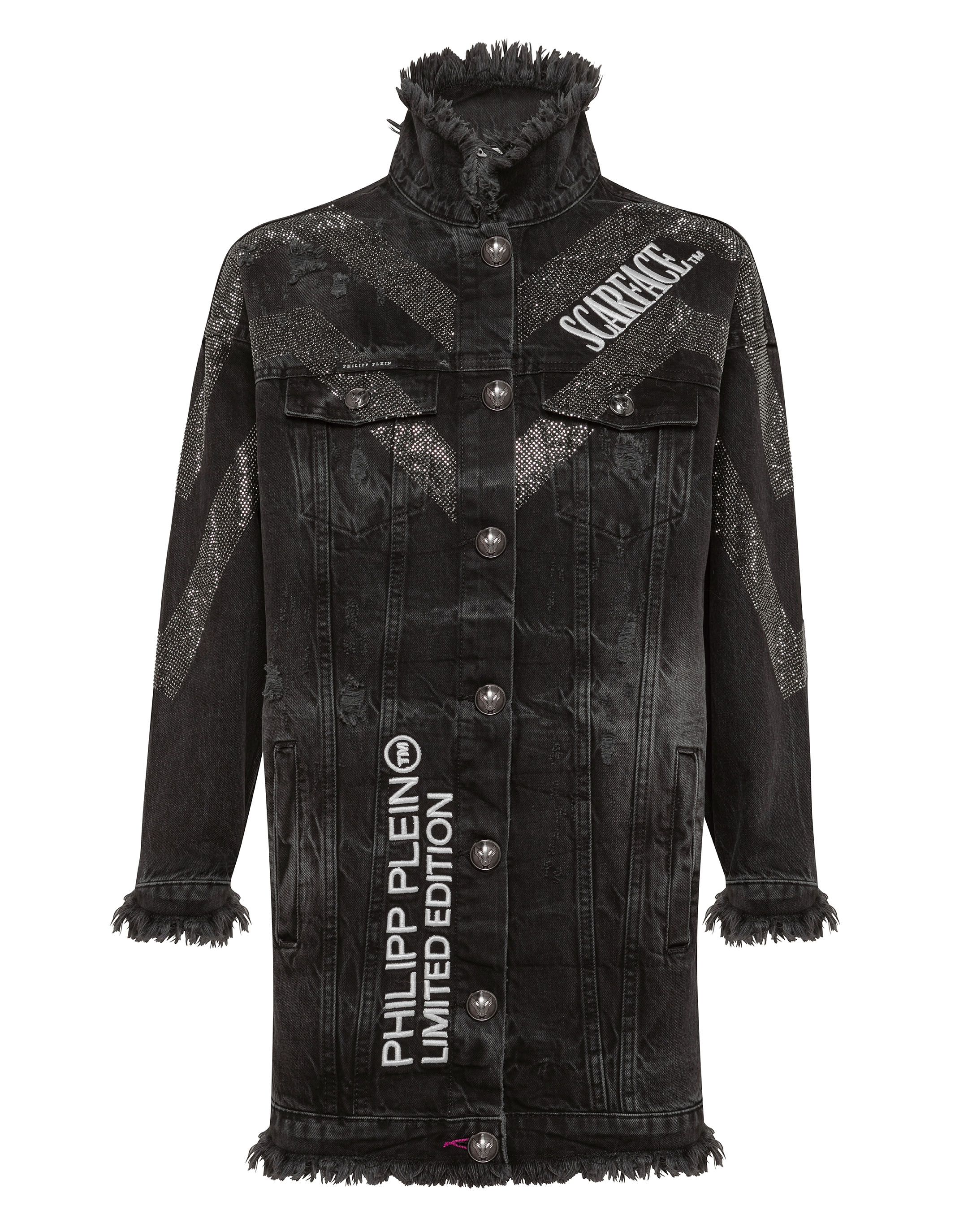 Denim Jacket Scarface | Philipp Plein