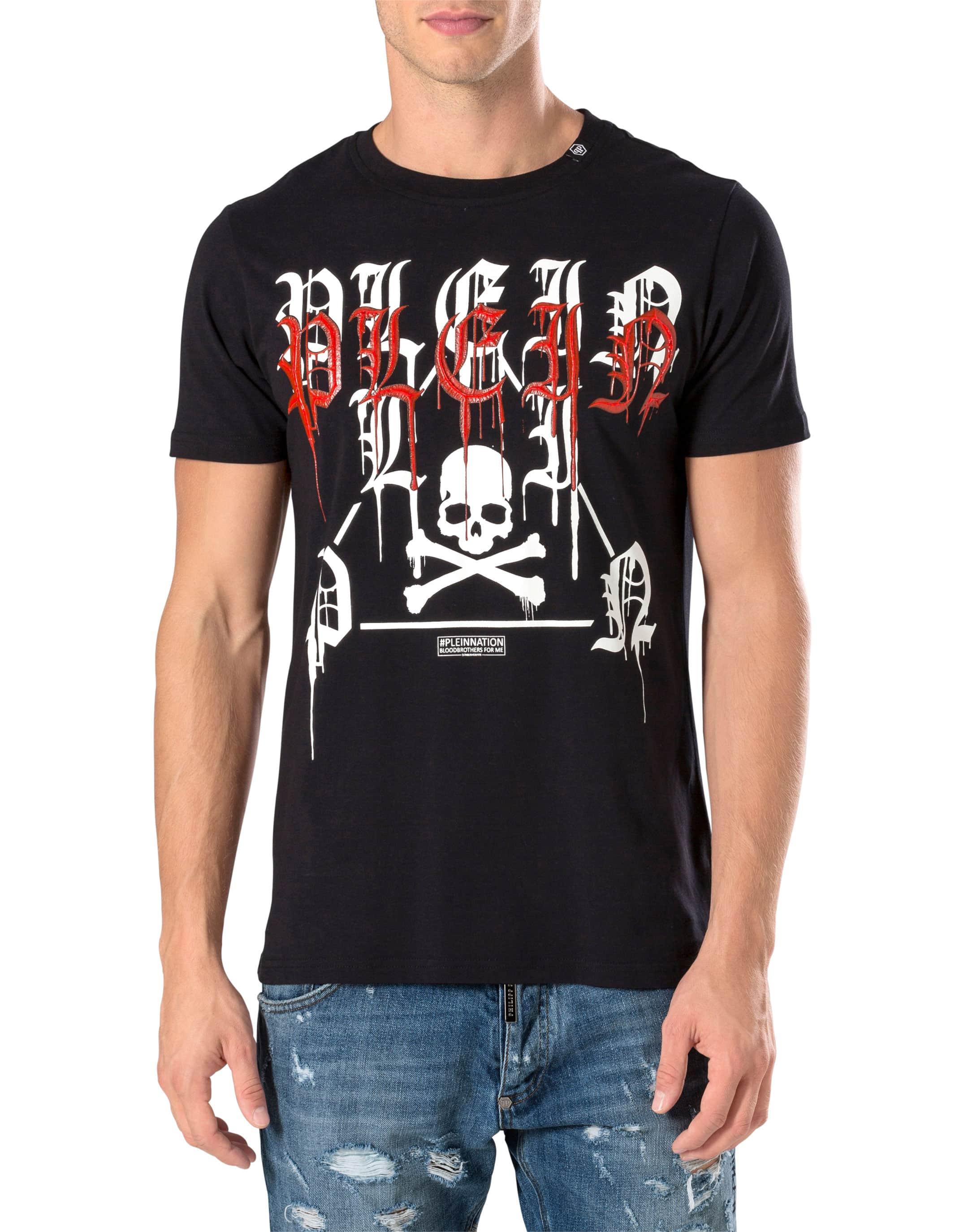SS Fancy T-shirt - Black Philipp Plein Free Shipping Newest mBOYYD