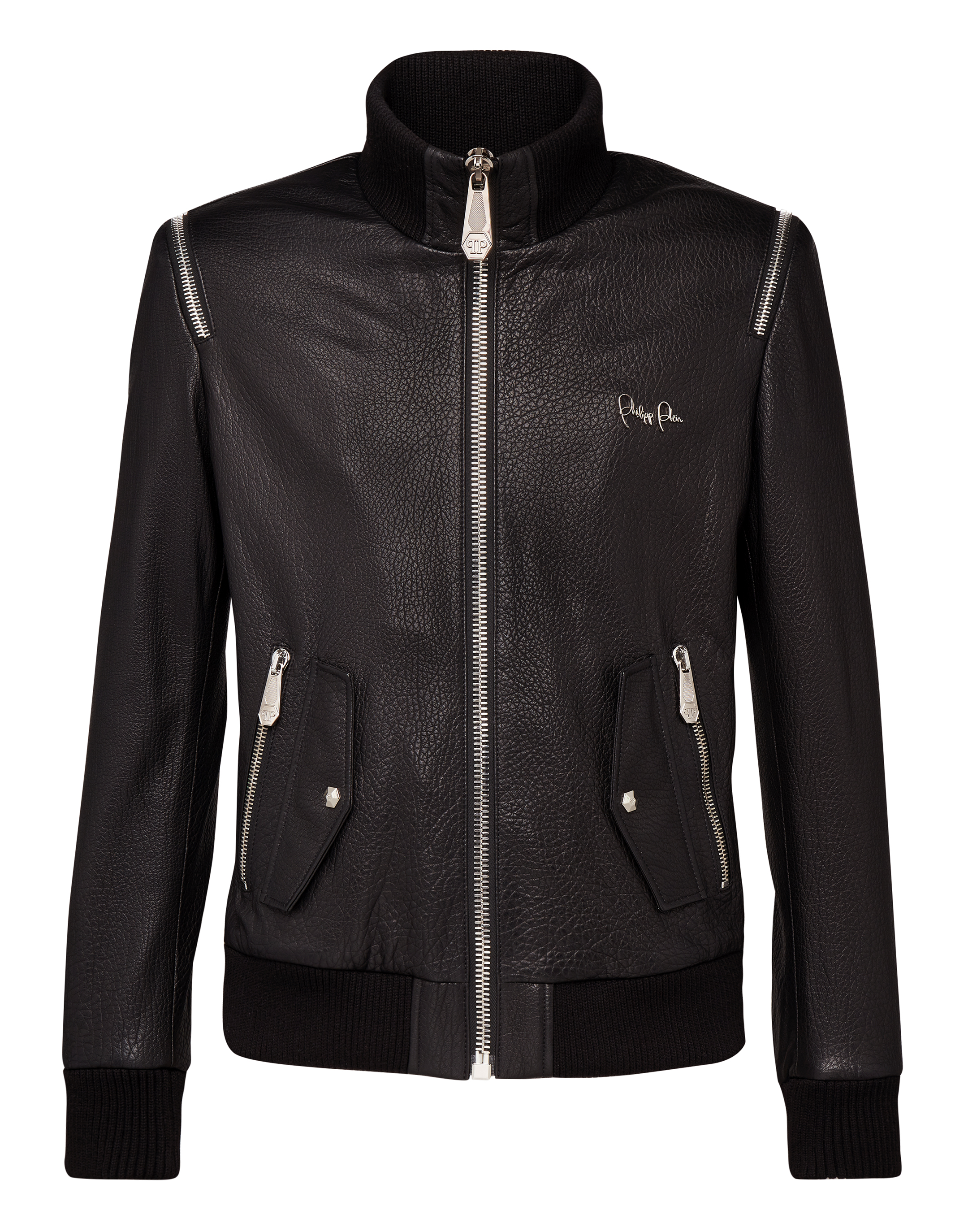 "LEATHER JACKET ""ZIPPER"""