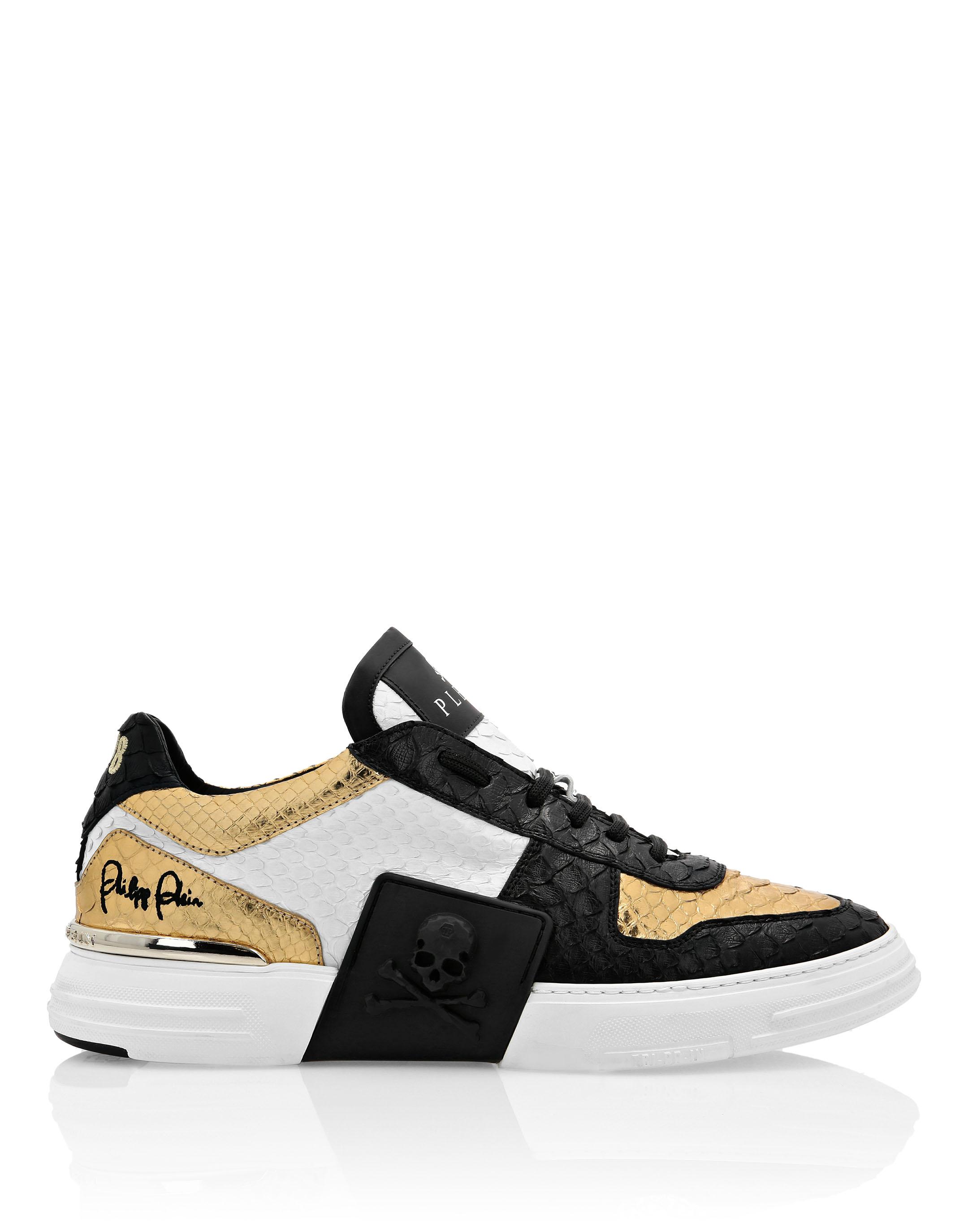 Lo-Top Sneakers Gold | Philipp Plein