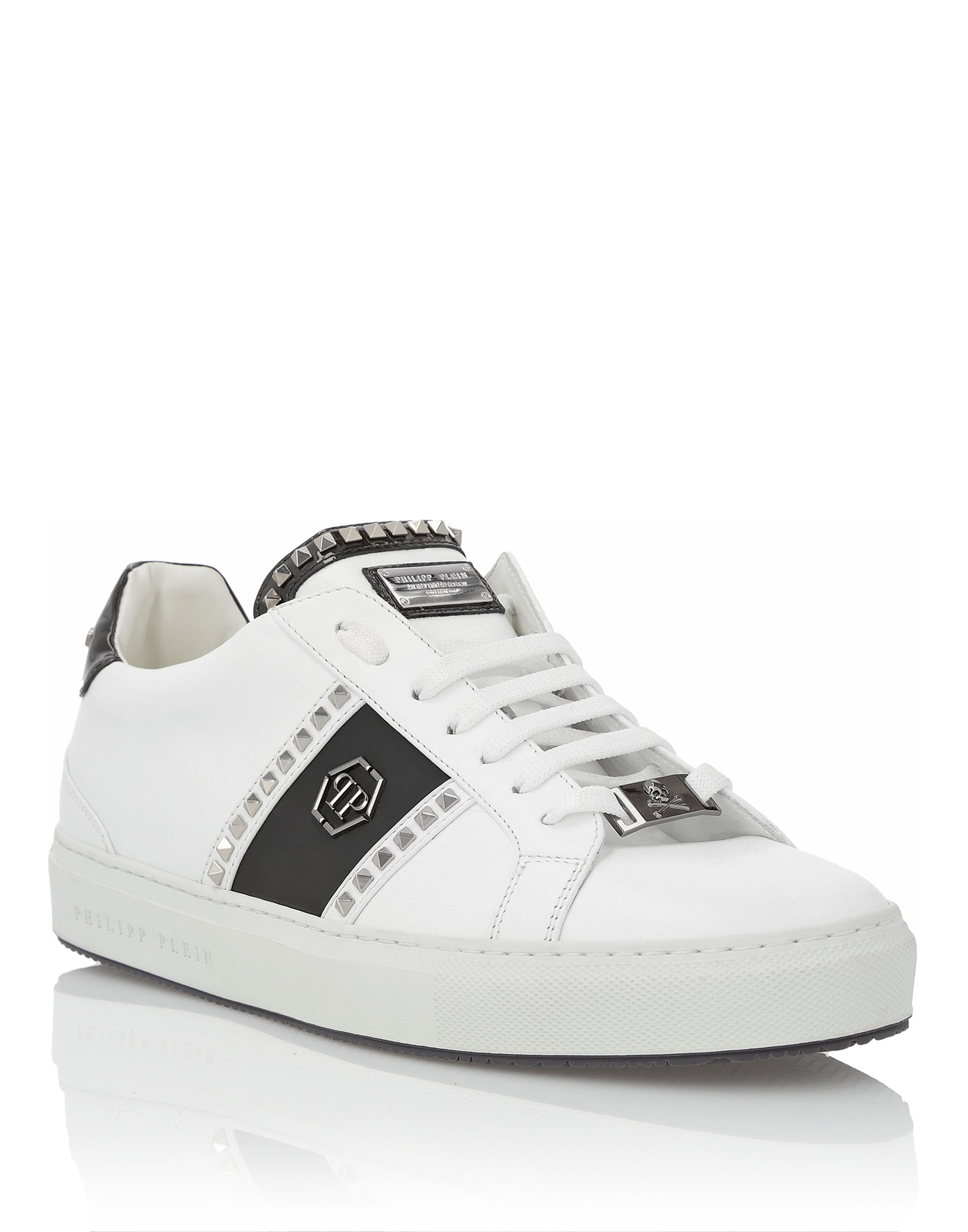 Studs and Logo sneakers - White Philipp Plein EbKPI