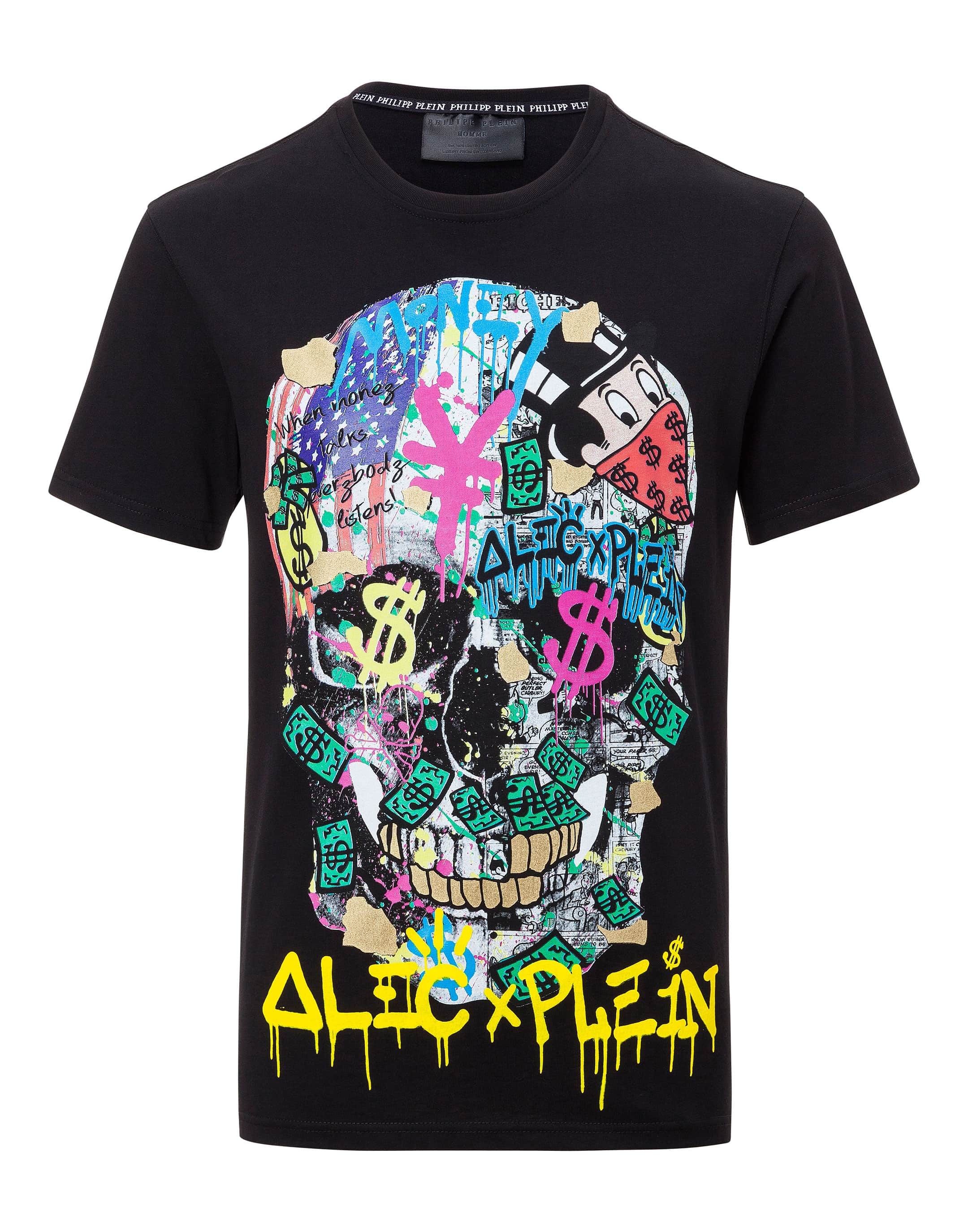 t shirt round neck ss new alec philipp plein. Black Bedroom Furniture Sets. Home Design Ideas