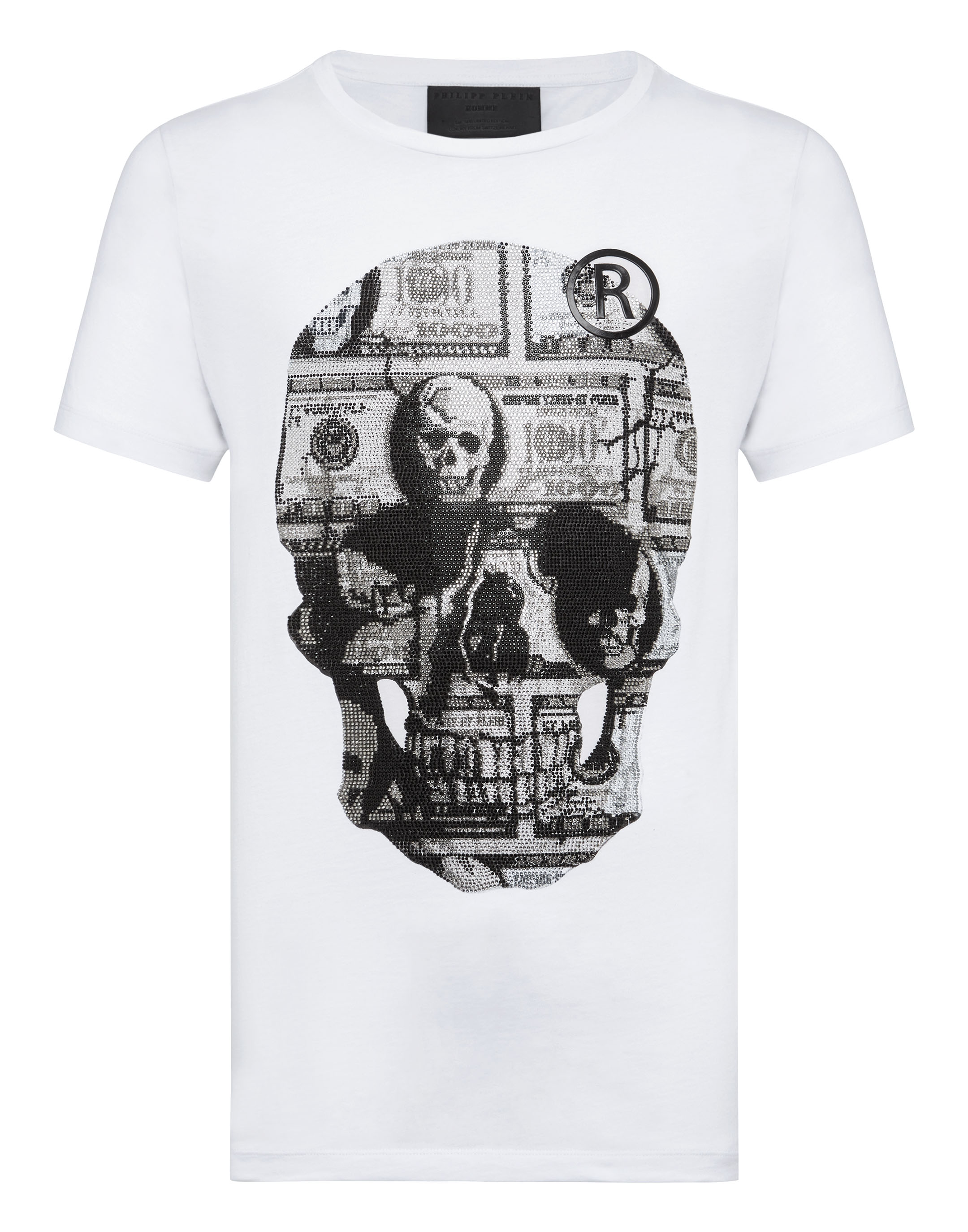 fcb1db04b T-shirt Round Neck SS Dollar | Philipp Plein