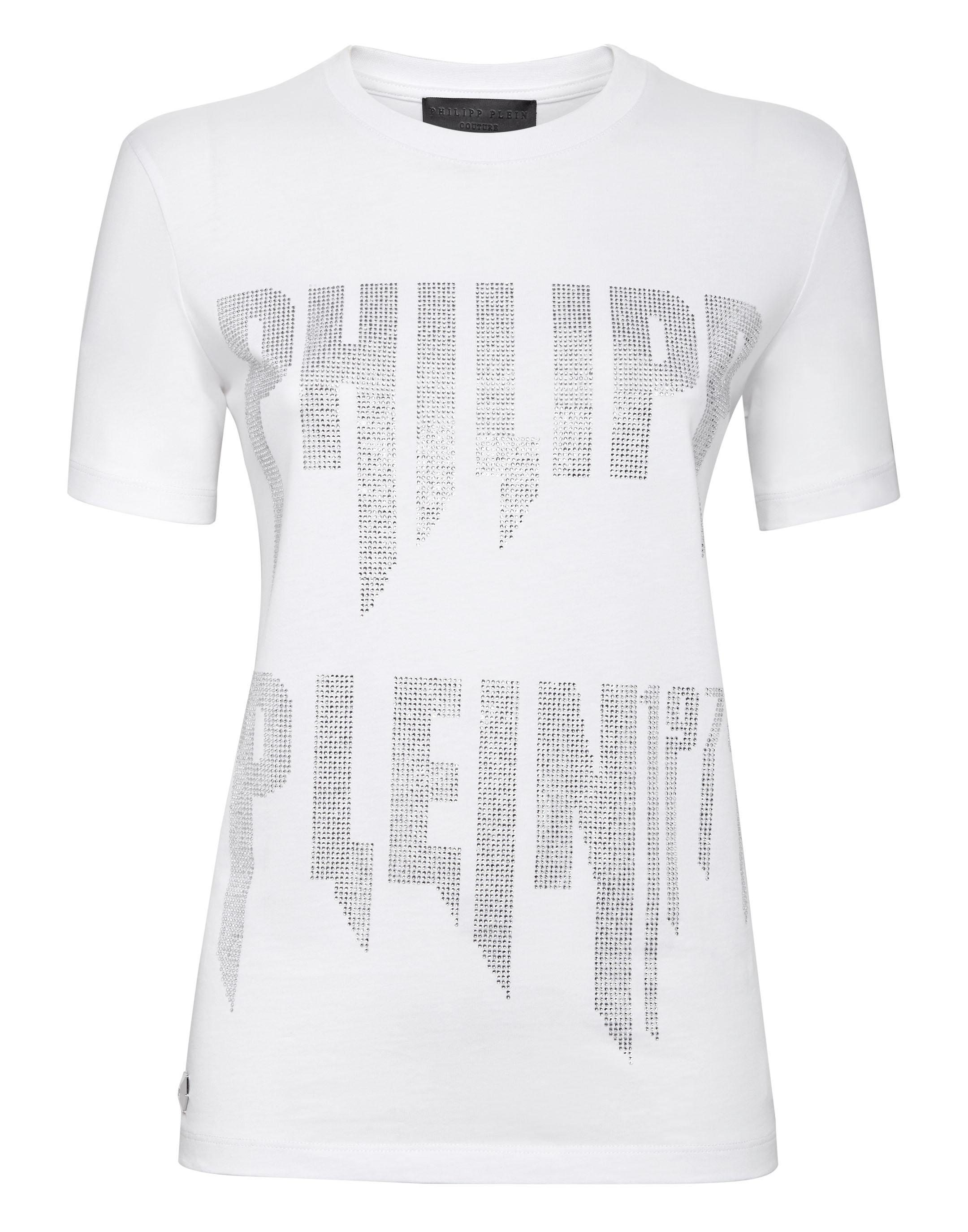 d035b9a7099 T-shirt Round Neck SS Rock PP | Philipp Plein