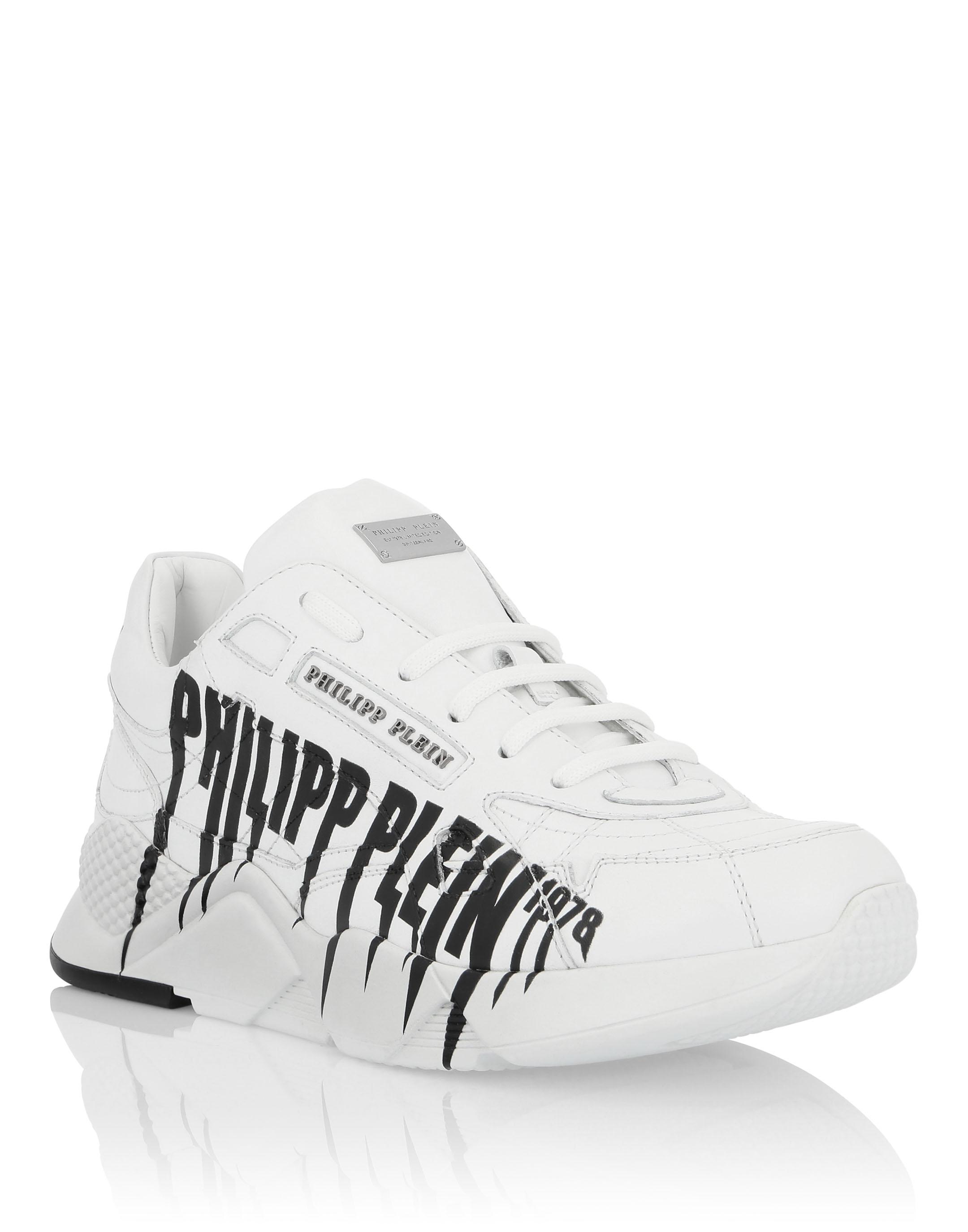 PHILIPP PLEIN Runner Rock Pp in White