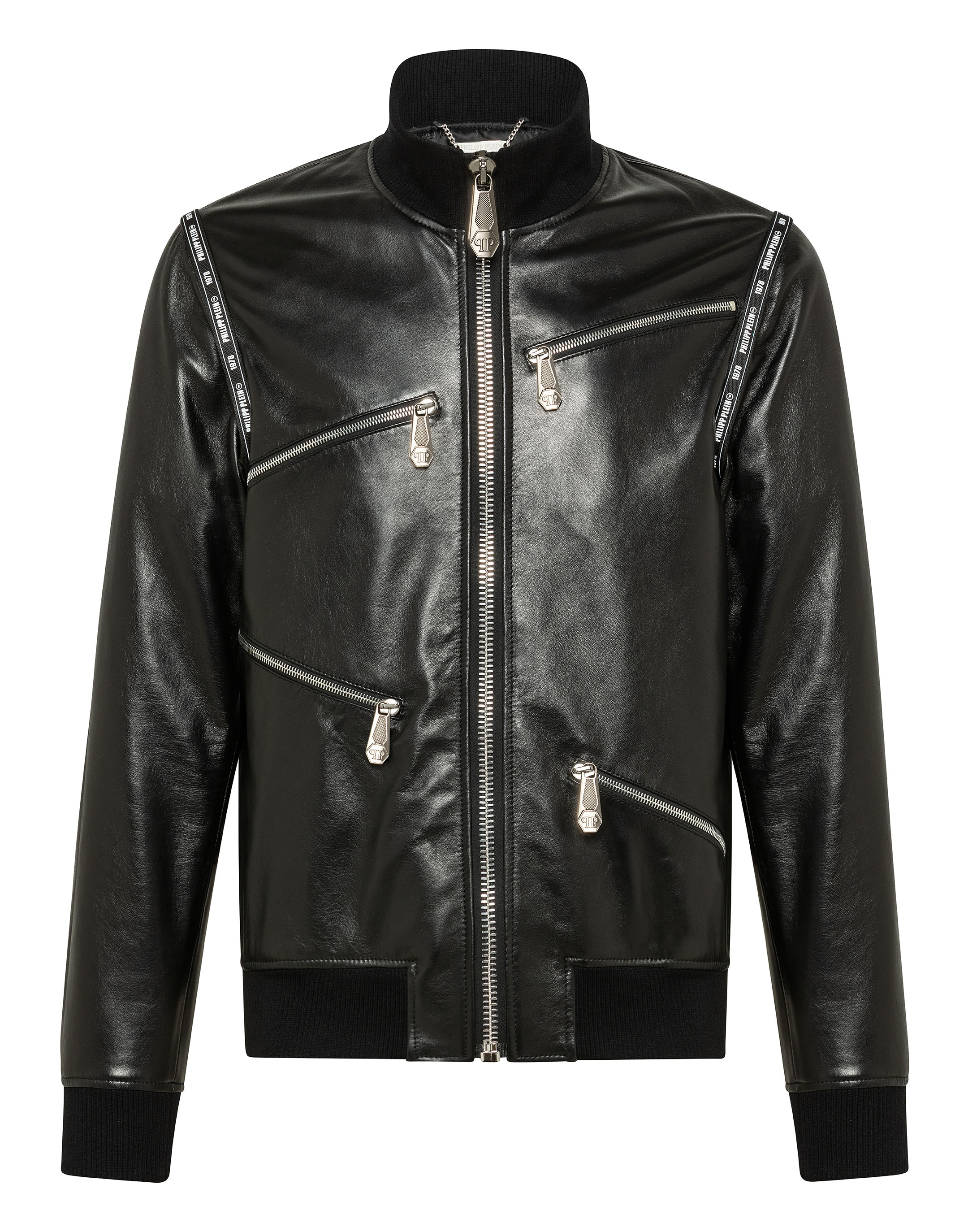 98a023e416 Leather Bomber Philipp Plein TM | Philipp Plein
