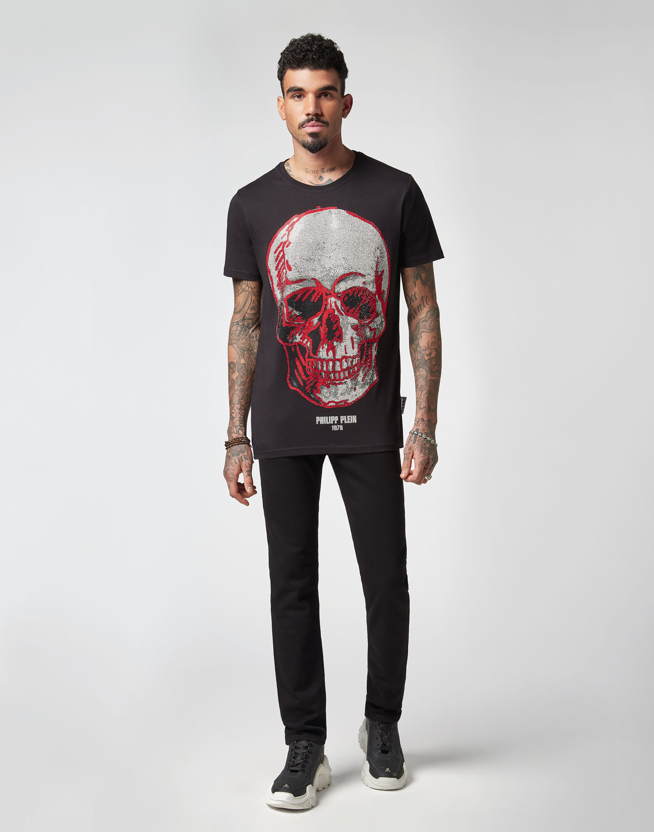 T-shirt Round Neck SS Skull  c45ff491fe