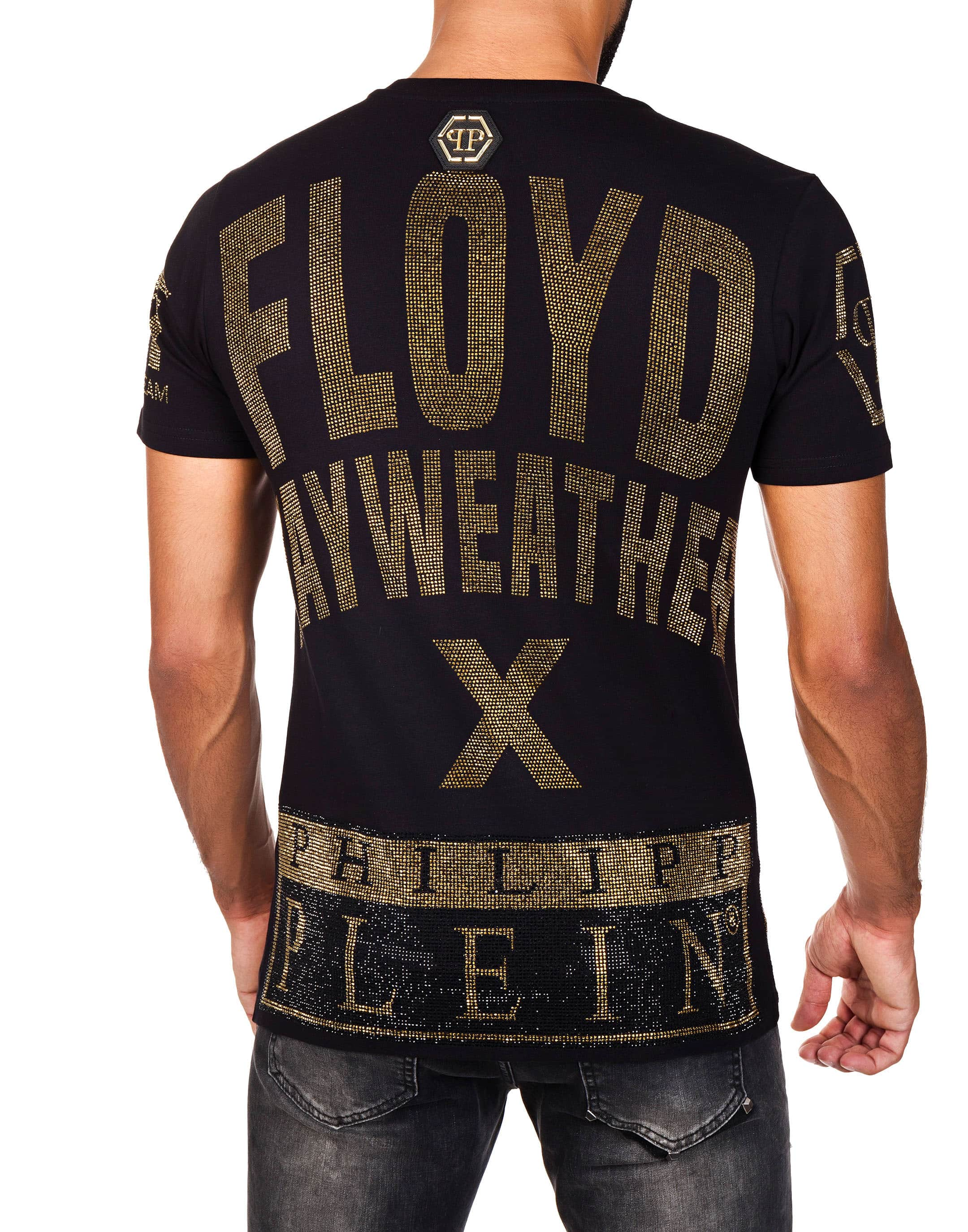 t shirt round neck ss mayweather one philipp plein. Black Bedroom Furniture Sets. Home Design Ideas