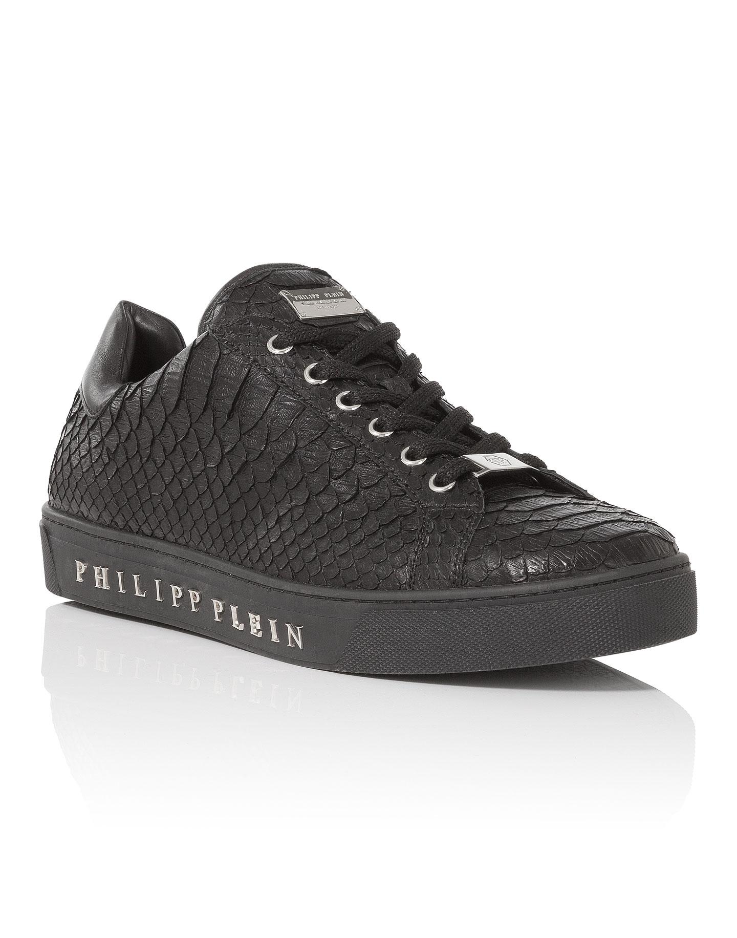 Signature low top sneakers - Black Philipp Plein 2ww2cO43Bk