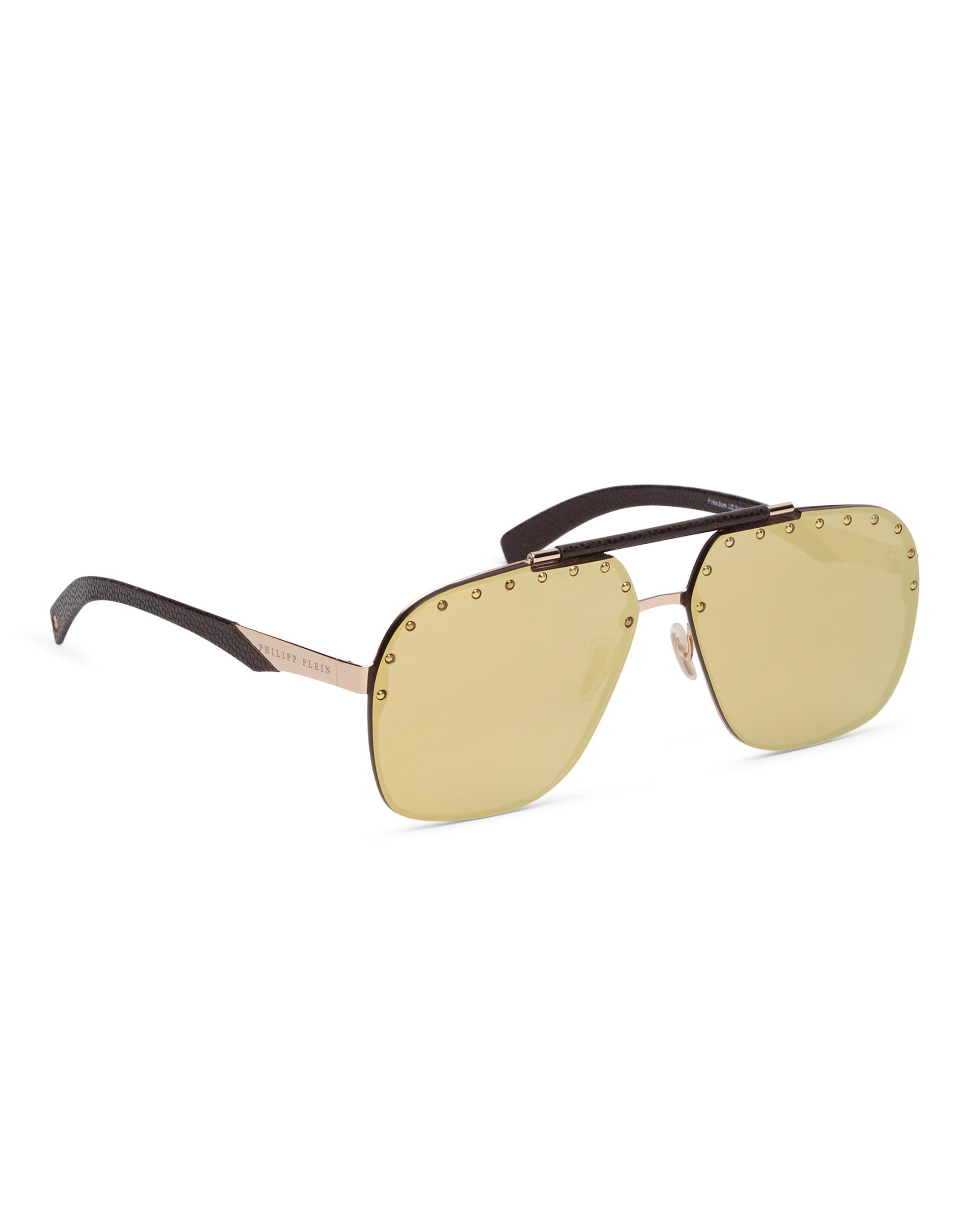 Philipp Plein Sunglasses Freedom Studded