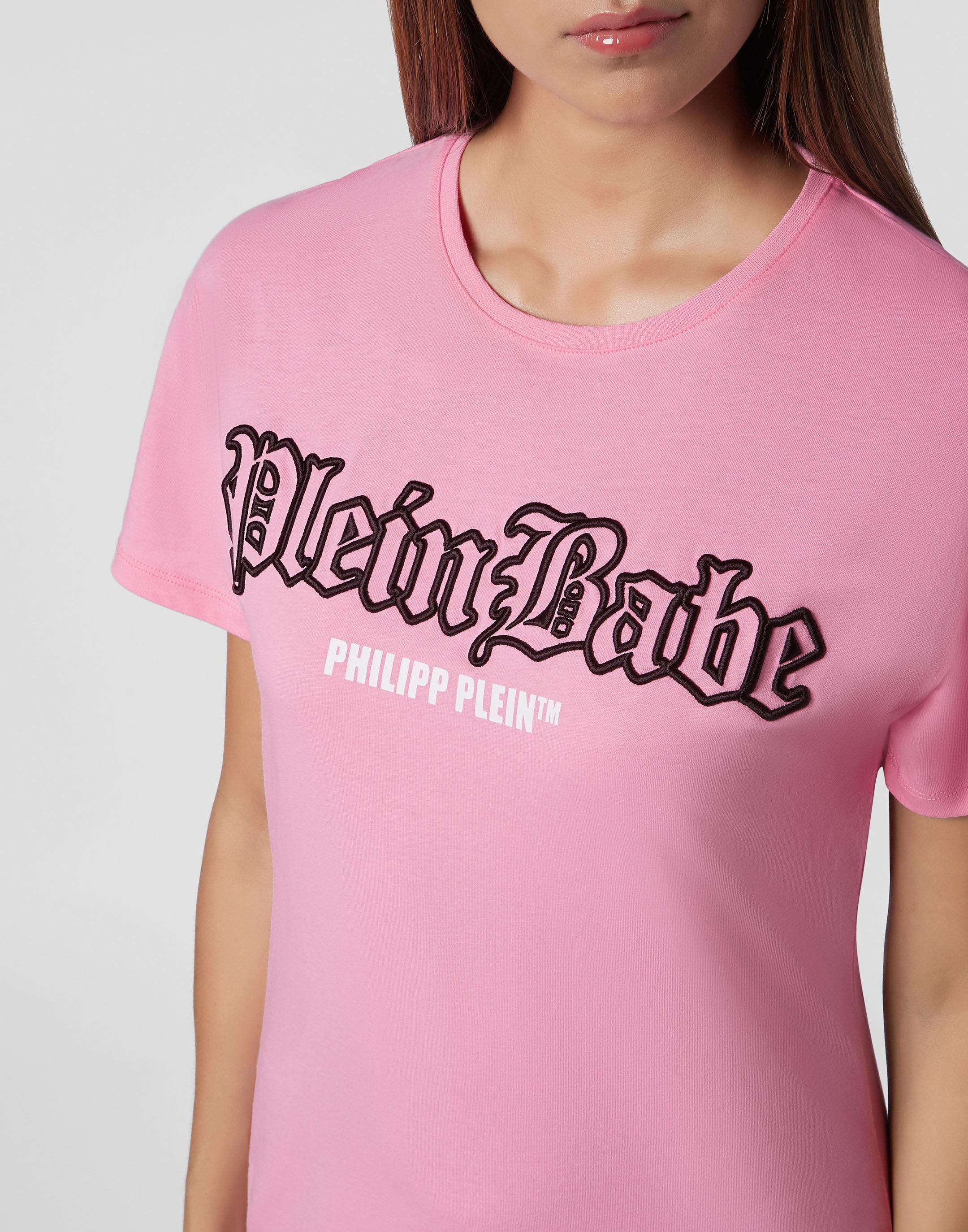 PUTIEN Scenery Decor Girls Short-Sleeve Midweight T-Shirt,Polyester,Caribbean Island Ov